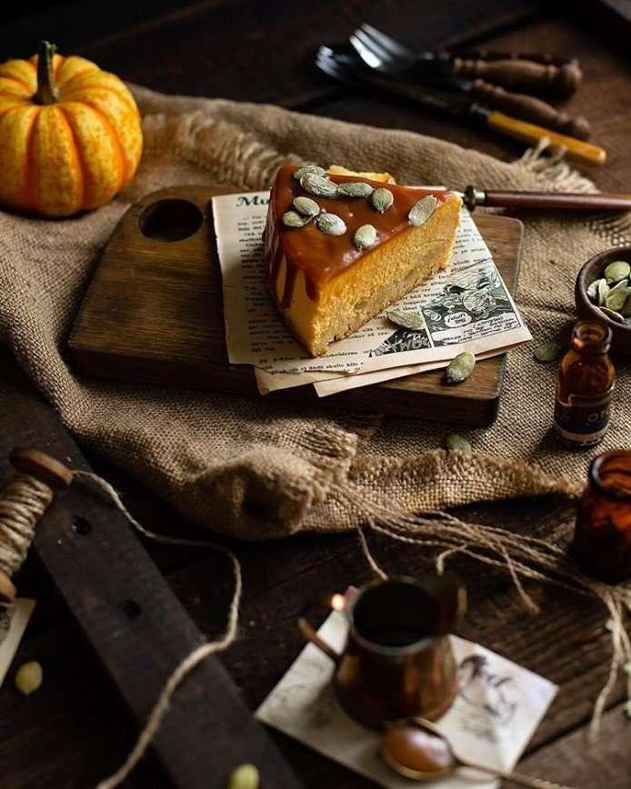 Убойное сочетание: как приготовить потрясающий тыквенный чизкейк