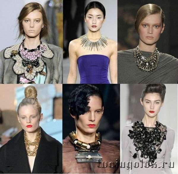 Модные ювелирные украшения весна-лето 2013