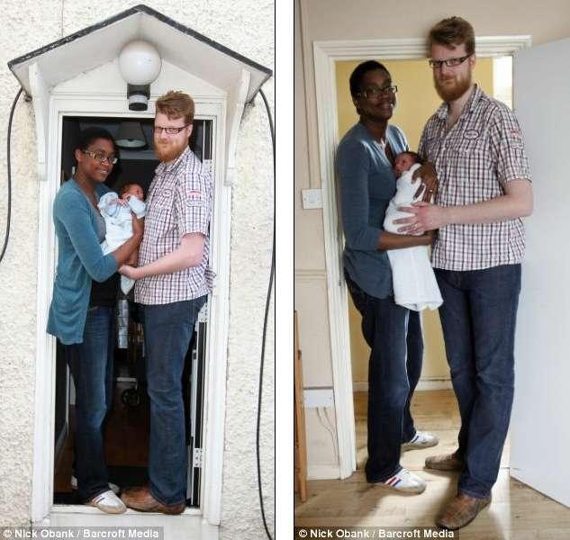 Самые высокие родители в мире и их дети