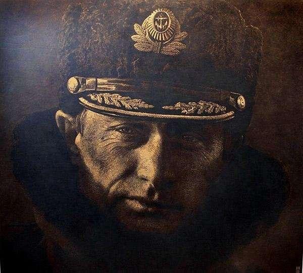 Необычные полотна Марка Эванса