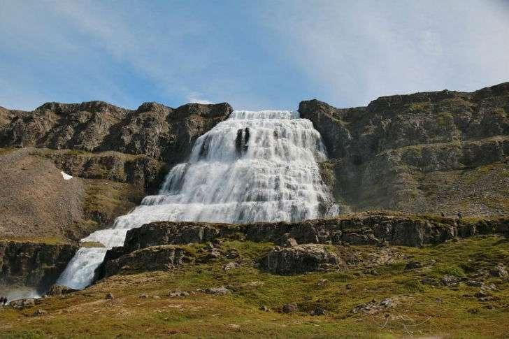 Сила и энергия водопадов Исландии