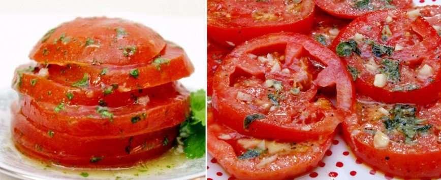 Маринованные помидоры по-итальянски за 30 минут
