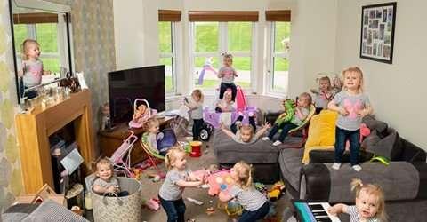 Британец показал, какой хаос может создать его двухлетняя дочка всего за 5 минут