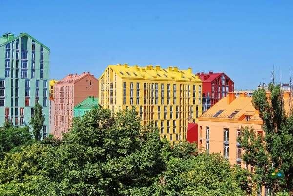 Архитектура в ярких красках!