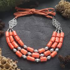 ☰ Купити коралове намисто Дарунок сонця - Жива майстерня